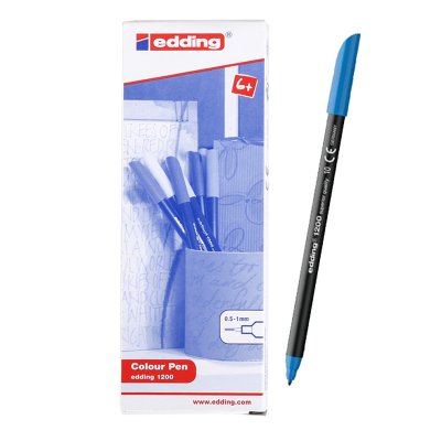 Wholesaler of Rotulador Edding 1200 10-azul claro 1mm