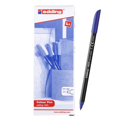 Rotulador Edding 1200 03-azul 1mm