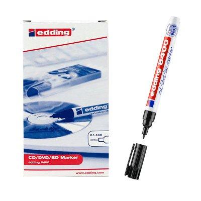 Rotulador Edding 8400 CD/DVD/BD Marker 01-negro 0.5-1mm