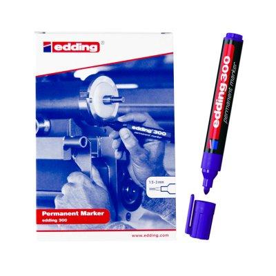 Rotulador permanente Edding 300 08-violeta 1.5-3mm