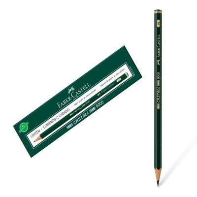 Lápiz grafito Faber Castell 9000 6B