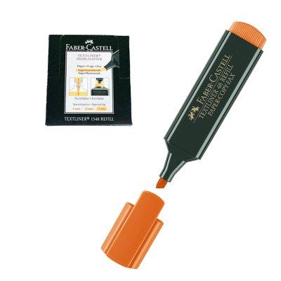 Wholesaler of Marcador fluorescente Faber Castell Textliner 48 naranja