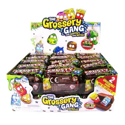 Pack 2 figuras en cajita Crusty Chocolate The Grossery Gang
