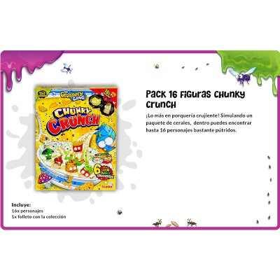 Wholesaler of The Grossery Gang Chunky Crunch with 16 characters