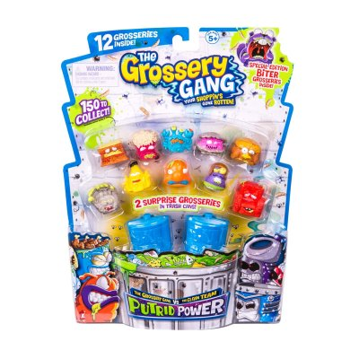 Blister 2 cubos basura The Grossery Gang