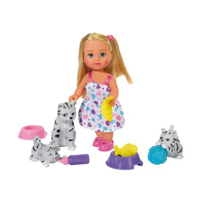 Wholesaler of Muñeca Evi Love con animales - modelo gatitos