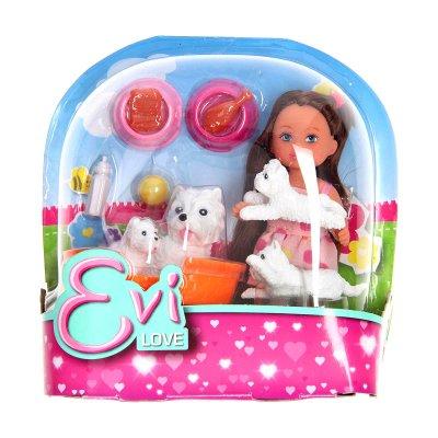 Muñeca Evi Love con animales - modelo perritos