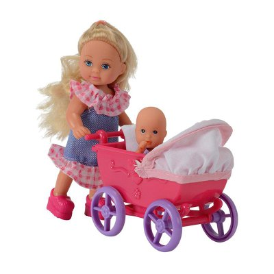 Wholesaler of Muñeca Evi Love Doll Walk - modelo carrito rosa