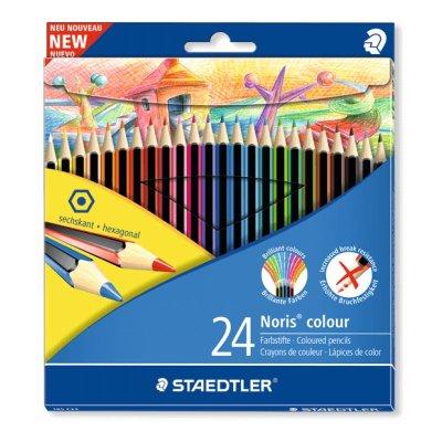Caja 24 lápices de colores Staedler Noris colour