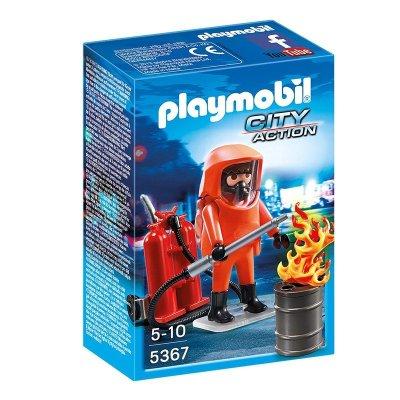 Especialista en extinción de incendios Playmobil City Action