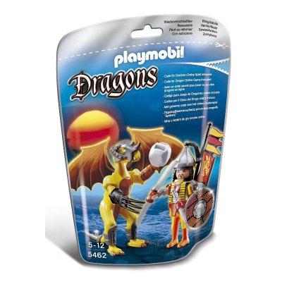 Dragón Roca con guerrero Playmobil Dragones