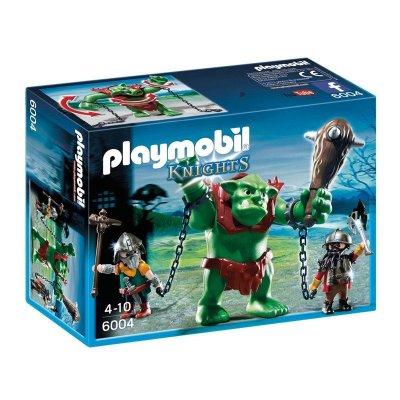 Trol gigante con luchadores Playmobil Knights