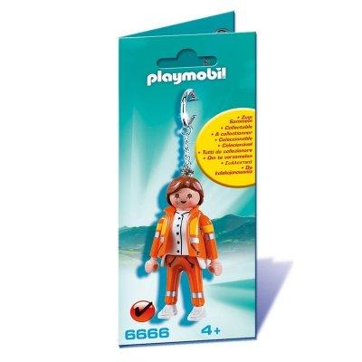 Llavero figura Médico Servicio de Emergencias Playmobil