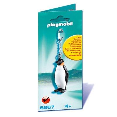 Llavero figura Pingüino Playmobil