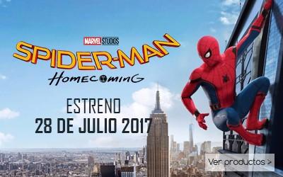 Mayoristas Distribuidores Licencias Infantiles - Marvel Disney - Spiderman Homecoming