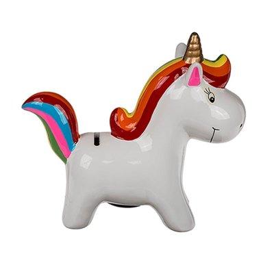 Hucha cerámica Unicornio