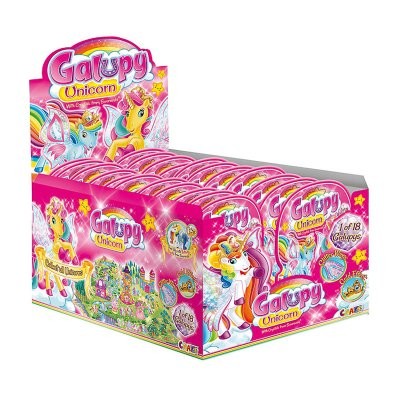 Expositor sobres sorpresa Unicornio Galupy