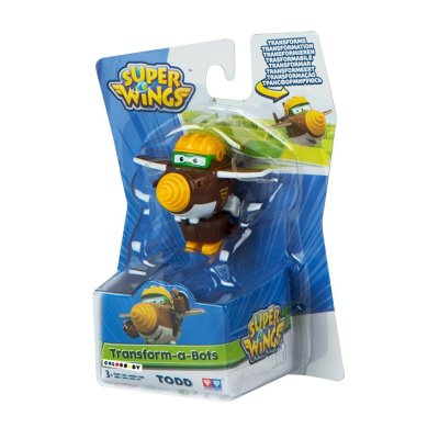 Figura Super Wings Transform a Bots - modelo Todd