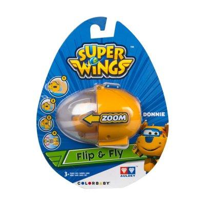 Huevo Lanzador Flip & Fly Super Wings Donnie