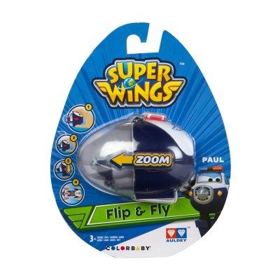 Huevo Lanzador Flip & Fly Super Wings Paul
