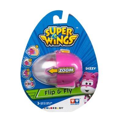 Huevo Lanzador Flip & Fly Super Wings Dizzy