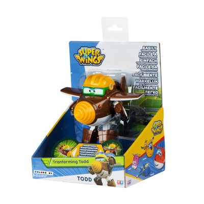 Figura Super Wings Transforming Todd