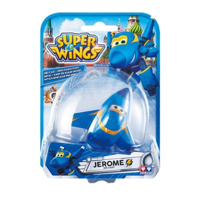 Figura Super Wings Die Cast - modelo Jerome