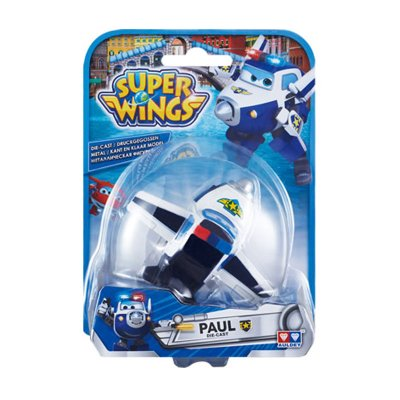 Figura Super Wings Die Cast - modelo Paul