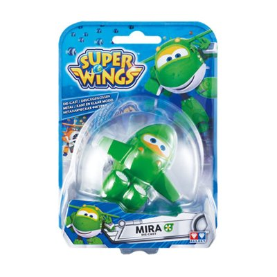Figura Super Wings Die Cast - modelo Mira