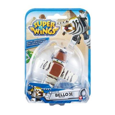 Figura Super Wings Die Cast - modelo Bello