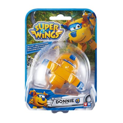 Figura Super Wings Die Cast - modelo Donnie
