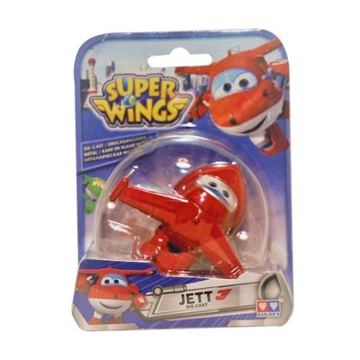 Figura Super Wings Die Cast - modelo Jett