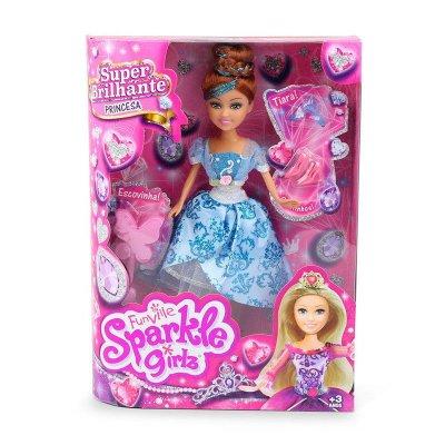 Muñeca Princesa Sophia Sparkle Girlz