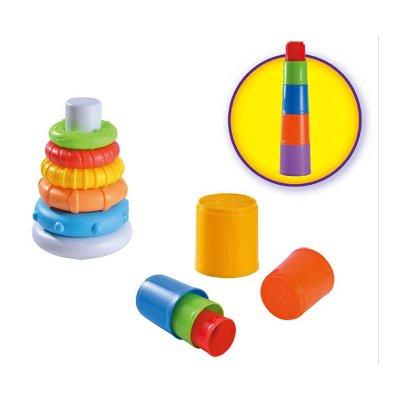 Wholesaler of Pack Torre y Pirámide apilable