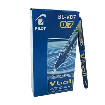 Bolígrafo Pilot Vball azul 0.7mm