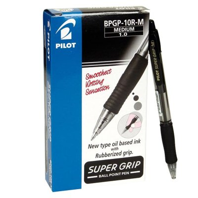Wholesaler of Bolígrafo Pilot Supergrip negro 1.0mm