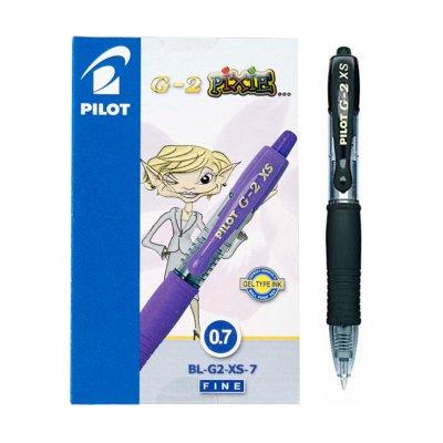 Bolígrafo Pilot G2 XS Pixie negro 0.7mm