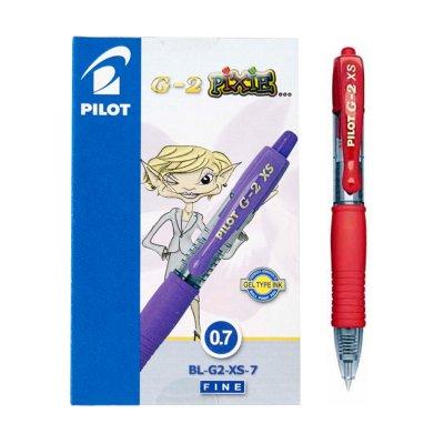 Bolígrafo Pilot G2 XS Pixie rojo 0.7mm