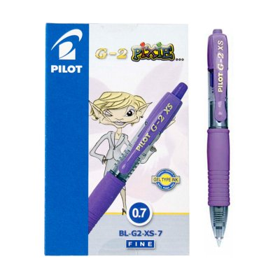 Wholesaler of Bolígrafo Pilot G2 XS Pixie violeta 0.7mm