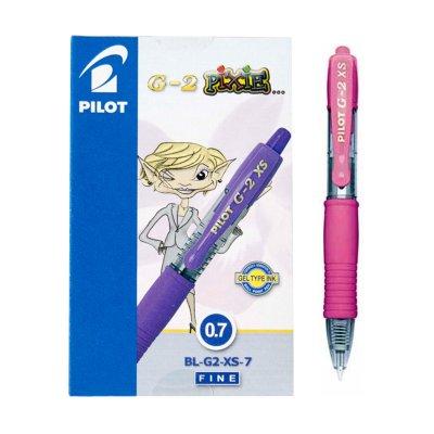 Bolígrafo Pilot G2 XS Pixie rosa 0.7mm