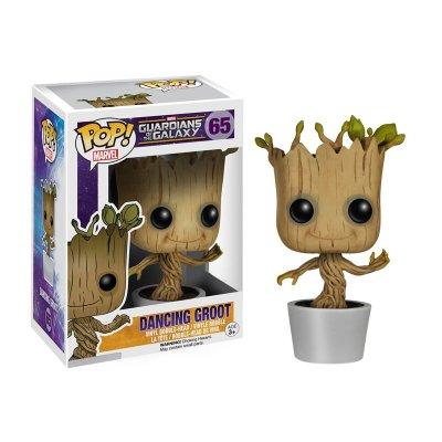 Figura Funko POP! Bobble 65 Dancing Groot Guardianes de la Galaxia