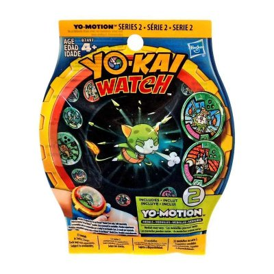 Sobres medallas YoKai Watch Yo-Motion serie 2