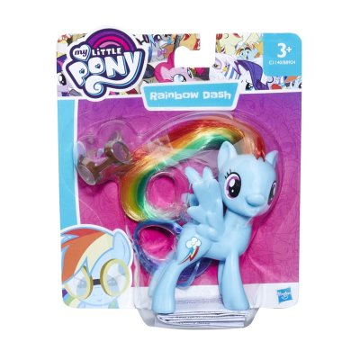 Figura My Little Pony Amiguitas - modelo Rainbow Dash