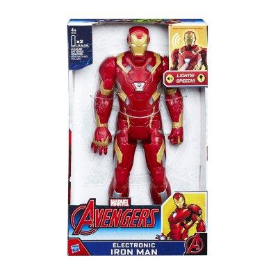 Figura electrónica Iron Man Los Vengadores 30cm