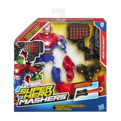 Figura Iron Patriot Marvel Super Hero Mashers Upgrade 15cm
