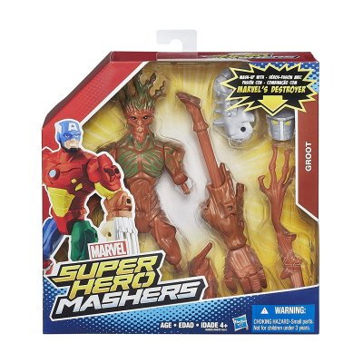 Figura Groot Marvel Super Hero Mashers Upgrade 15cm