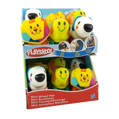 Mini animalitos blanditos con ruedas Playskool