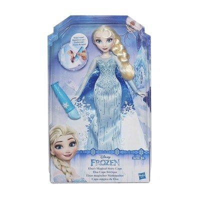 Muñeca Frozen Capa Mágica de Elsa