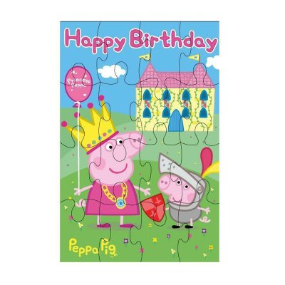 Wholesaler of Tarjeta cumpleaños puzzle Peppa Pig