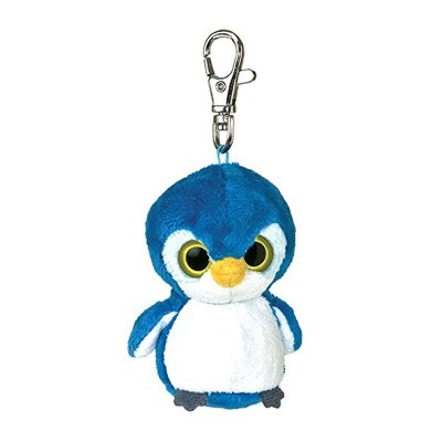 Llavero peluche Yoohoo & Friends - pingüino Kookee 7.5cm
